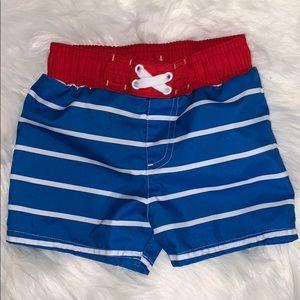 Cat & Jack | 18M Swim Trunks Red White Blue